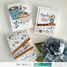 Coffee Card Tutorial with the Concord & Coffee Blend Turnabout Bundle Friday Coffee, Thanks A Latte, Coffee With Friends, Coffee Cookies, Concord And 9th, Coffee Cards, Card Companies, Card Making Tutorials, Blended Coffee