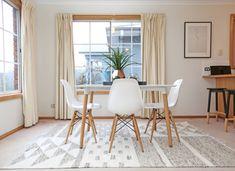 die besten 25 teppich unter esstisch ideen auf pinterest gro er esszimmer tisch moderner. Black Bedroom Furniture Sets. Home Design Ideas