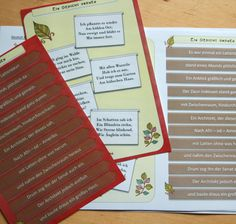 Gedicht zum Frühling. Aufgaben für die Klasse 5/6, mit denen Lyrik spielerisch und kreativ selbst gestaltet wird. Differenziert kann jeder nach seinen Stärken arbeiten und ein wunderbares Ergebnis erzielen. Travel, Life, Learn To Read, Types Of Text, Viajes, Destinations, Traveling, Trips