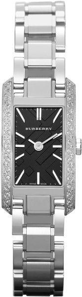 ♔ Burberry Silver London Ladies Watch