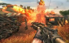 Fire!! Fire!! Fire!! Lets play Far Cry 2 now to get more sensation of playing first-person shooter game on your PC.