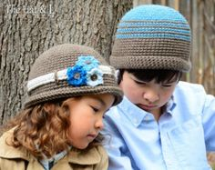 CROCHET PATTERN Newsboy Slouchy a slouchy hat with by TheHatandI