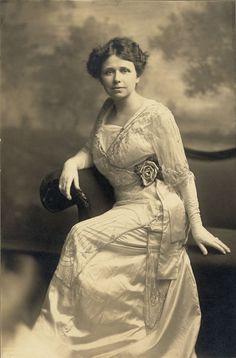 Hattie Caraway in 1914. She was the first woman senator in 1932 (Arkansas)