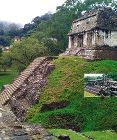 Patrimonio Mundial | 1987 Ciudad Prehispánica   y Parque Nacional de Palenque BIEN CULTURAL