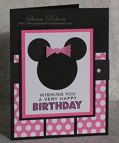 Birthday Wishes From Minnie » Rainy Day Creations