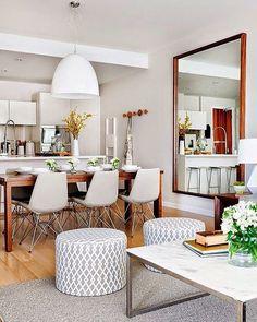 Cadeira Eames Tower  #inspiration #inspiração #architecture #arquitetura #arquiteturadeinteriores #interiors  #ambiente #homedecor #decor #ideias #ideas #design