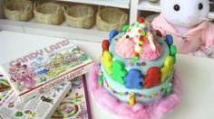 Mini Dollhouse Cake