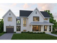 33 Best Modern Farmhouse Exterior House Plans Design Ideas Trend In If you are looking for [keyword], You come to the right place. Below are the 33 Best Modern Farmhouse Exterior House Plans Des. Modern Farmhouse Exterior, Farmhouse Style, Farmhouse Decor, Farmhouse Architecture, Farmhouse Front, Farmhouse Ideas, Modern Farmhouse Floor Plans, Modern Home Exteriors, Urban Farmhouse Designs