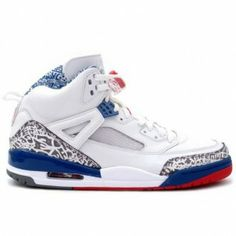 big sale 2e0ec 5d84d 315371-163 Air Jordan Spizike White Varsity Red True Blue A23013 Cheap  Jordans For Sale