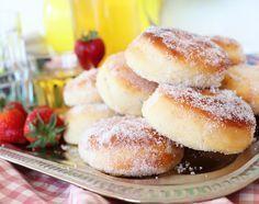 Paperivuoka: Uunimunkit Baked Doughnuts, Sweet Bakery, Sweet Pastries, Baking And Pastry, Sweet And Salty, Street Food, Finger Foods, Food Inspiration, Sweet Recipes