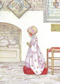 1907 Millicent Sowerby book illustration, via http://www.brokenbooks.net