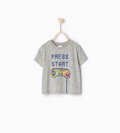 """T-shirt """"Press Start"""