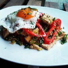 Zöldséges tofu Recept képpel - Mindmegette.hu - Receptek Tofu, Ethnic Recipes, Red Peppers