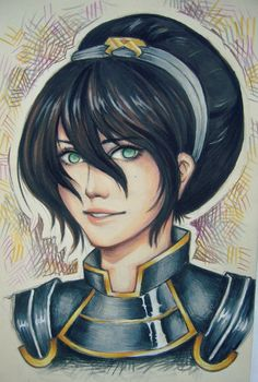 Toph Bei Fong by ~O-cha-ra on deviantART