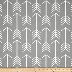 Storm Gray Arrows Curtain Panels. All Sizes 63 by thebluebirdshop