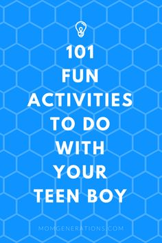 101 fun things to do