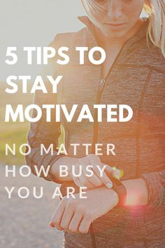 Learn how to make your workout a priority, even with a busy schedule.