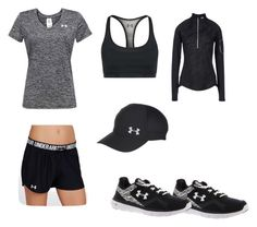 """""""Under Armour training set!!"""" by riahn-comte247 on Polyvore featuring Under Armour"""