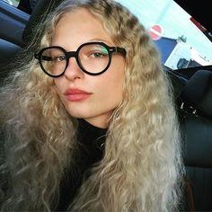 How to Wear Geek-Chic Glasses Like a Céline Model