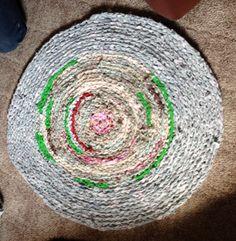 Crochet Rag Rug by BIZEbeez on Etsy, $45.00...made by Linda