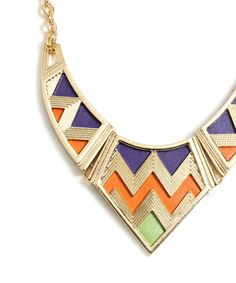 tribal statement necklace jewelry accessories
