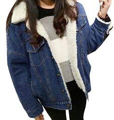 61fa023dbab098 New Cashmere Thick Winter Denim Jean Jacket Women Coat Chaqueta Womens  Jaqueta Jeans Bomber Abrigos Mujer Veste En Jean Coats