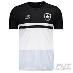 a740b8757c33b Camisa Topper Botafogo Concentração 2016 Preta Somente na FutFanatics você compra  agora Camisa Topper Botafogo Concentração
