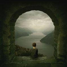 "Saatchi Online Artist: Michael Vincent Manalo; Photomanipulation, 2009, Digital ""The Story Teller; Edition of 10"""