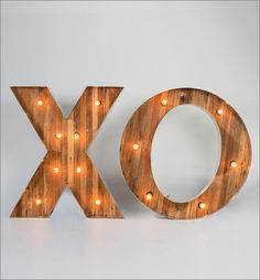 X O Font - Marquee Collection by Got Light. Marquee Letters.