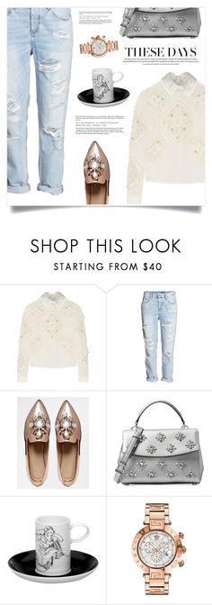 """Being Me"" by marina-volaric ❤ liked on Polyvore featuring Peter Pilotto, ASOS, Michael Kors, Vista Alegre and Versace"