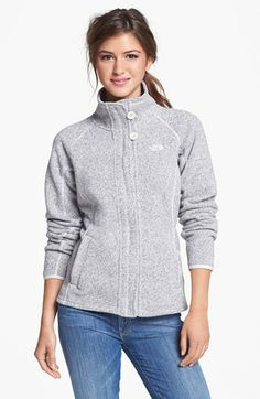 Cannot wait for you to arrive in the mail The North Face 'Crescent' Full Zip Jacket Basic Outfits, Casual Outfits, Cute Outfits, Daily Look, Vogue, Clothing Items, The North Face, Style Me, Autumn Fashion