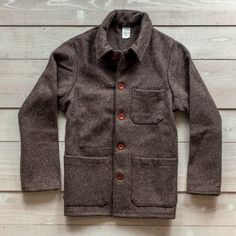 Best representation descriptions: French Work Jacket Wool Related searches: Wool Coats for Men,Woolrich Wool Jacket,Work Jackets and Coats,. Carhartt Coats, Winter Work Jackets, Formal Jackets For Women, Best Cyber Monday Deals, Mens Wool Coats, Mens Winter Coat, Winter Coats, Trench Coat Men, Looks Style
