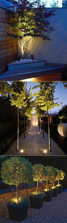 4x Copper Stainless Steel Outdoor Garden Landscape Ground Spike Spot Lights GU10