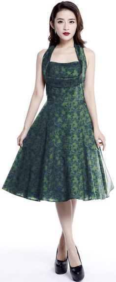 1950s inspired Shelf Bust Dress by Amber Middaugh