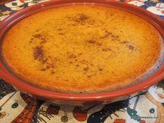Crustless Gluten-Free Dairy-Free Pumpkin Pie Cooled