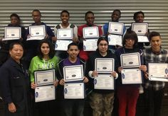 Bradley Tech students earn Manufacturing Skills Standards Council Safety Certifications!