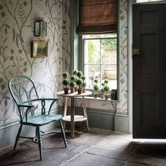9 Wallpapered Hallway Ideas To Jumpstart Your Spring Home Revamp