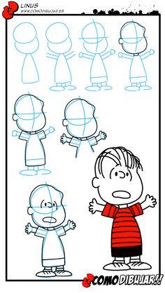Como dibujar a Linus: http://www.comodibujar.es/tutoriales-dibujo/como-dibujar-a-linus-charlie-brown/
