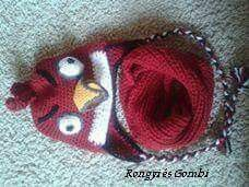 Angry Birds hut &scarf