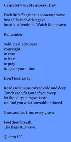 d day memorial poems