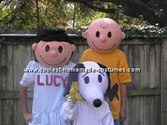 Halloween make your own snoopy   http://www.coolest-homemade-costumes.com/charlie-brown-costume.html