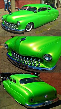 """The Muscle Car History Back in the and the American car manufacturers diversified their automobile lines with high performance vehicles which came to be known as """"Muscle Cars. Retro Cars, Vintage Cars, Muscle Cars, Cadillac, Mercury Cars, Lead Sled, Sweet Cars, Us Cars, Custom Cars"""