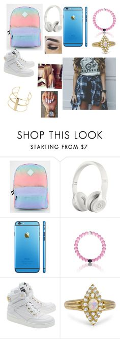 """School"" by aracelibechtold ❤ liked on Polyvore featuring Vans, Beats by Dr. Dre, Moschino, Topshop, women's clothing, women's fashion, women, female, woman and misses"