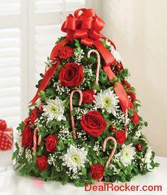 christmas roses centerpieces - Buscar con Google