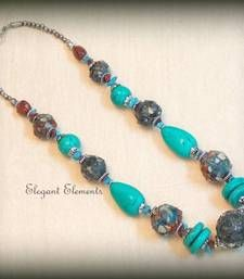 Elegant Elements - Hot selling!!! chic and dainty colored stone necklace