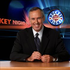 Ron MacLean, author of Cornered and Canadian hockey idol!