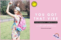 Got that vibe? Enter to win 3 items from the Lazy Oaf x Nasty Gal collection by taking a photo that best represents the collab & upload to Instagram w/ the hashtag #lazyoafxnastygal <3