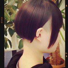 反対側 japan#kyoto #saiin#京都#西院##auly#アウリー#美容院#オシャレ女子#カットライン#ツーブロック女子 #素敵なお客様#オシャレなお客様#可愛いお客様#アシメ可愛い #アシンメトリー #カットのみ #私の中のツーブロ女子はオシャレすぎる Undercut Hairstyles, Short Hair Styles, Hair Cuts, Hair Beauty, Bob Styles, Haircuts, Short Length Haircuts, Hairdos
