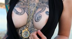 Tentacles and Tattoos: Octopus Tattoo Designs - Ratta Tattoo Design Your Tattoo, Octopus Tattoo Design, Tattoo Designs, Octopus Tattoos, Ink Tattoos, Sexy Tattoos, Body Art Tattoos, Tattoos For Women, Cool Tattoos