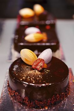 Oriol Balaguer dark chocolate fudge mousse